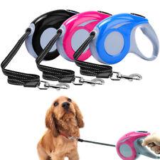 Retractable Dog Lead Lockable Tape Automatic Extendable Pet Walking Leash 3M/5M