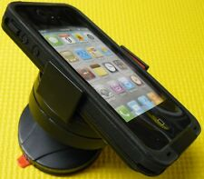 Compact Suction Car Mount Fits For Iphone 4/4s Lifeproof Case Rotates 360°