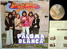 GEORGE BAKER SELECTION Paloma Blanca US PROMO label LP
