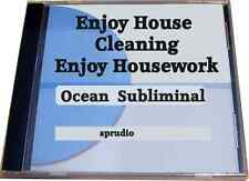 Subliminal CD Love to House Cleaning, Enjoy Housework ,Enjoy House Chores Ocean