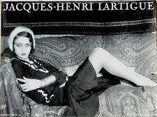 Jacques-Henri Lartigue≈Renee Paris 1931≈Photo of Muse/Mistress Art POSTER 24x32