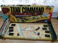 Vintage Tank Command Ideal Games 1975 Collector's Item Missing Instructions