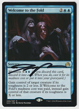 Signed Welcome to the Fold LP SOI Artist David Palumbo MTG Nate's Magic Cards!