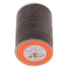 85m Spool 0.65mm Round Sewing Leather Waxed Polyester Thread LeatherCraft