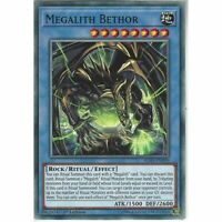 IGAS-EN039 Megalith Bethor 1st Edition Common Card YuGiOh Trading Card Game TCG