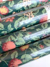 4 Bolts Vtg Floral Wallpaper Brewster Wallcovering Botanical Vintage Home New