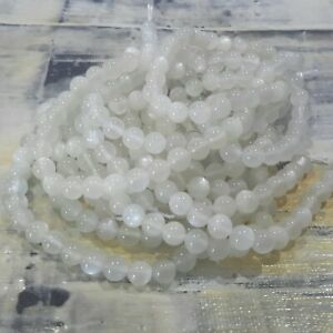 Natural Moonstone 6mm, Approx 67pce 1mm hole   Free postage. Oz Selle