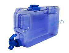 Blue BPA Free 1 Gallon Water Bottle Dispenser Faucet Reusable Container Jug New