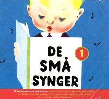CD Kinderlieder Lieder Songs DÄNISCH - De Små Sma Synger - 50 Bornesange , NEU