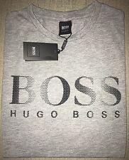 Hugo Boss t-shirt Top size Large Men's BNWT Grey *black label* Regular Fit