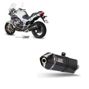 M.007.LRB Échappement MIVV Moto Guzzi Breva 1100 05-11 Sport Speed Edge Noir