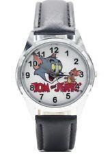 Tom & Jerry TV Series Genuine Leather Band WRIST WATCH