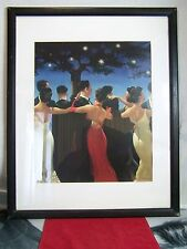 JACK VETTRIANO WALTZERS DANCING UNDER THE STARS PRINT FRAMED MATTED
