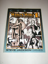 GURPS: Who's Who 1 (New)