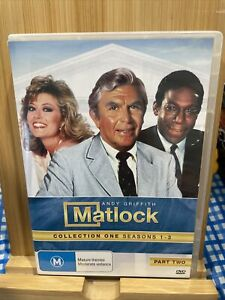 Matlock: Collection One-Seasons 1-3 Part Two Dvd Region 4 Rare