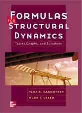 FORMULAS FOR STRUCTURAL DYNAMICS TABLES GRAPHS AND SOLUTIONS By LEBED
