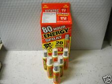Kickers 80 Hour Energy Spray Vitamin Supplement 6 Bottles ...