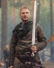 LIAM NEESON HOLDING SWORD 8X10 COLOR PHOTO