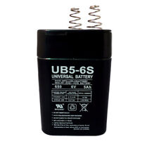 Lantern Rechargeable Battery - UB5-6S - 6 Volts 5Ah - Terminal S2