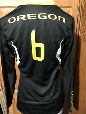 University of Oregon UO Ducks Womens NIKE Digital Long Slv Jersey Shirt 623809