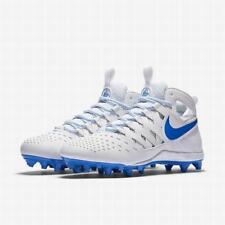Nike Huarache V 5 Elite LAX Td Lacrosse Football Cleats 12.5 White / Blue