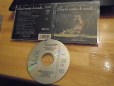 RARE OOP Tous les Matins du Monde CD soundtrack score JORDI SAVALL France 1991 !