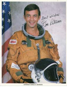 Autogramm - Donald H. Peterson (Astronaut)