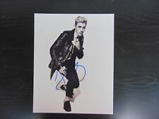 """Boyfriend"" Justin Bieber Hand Signed 8X10 Color Photo Todd Mueller COA"