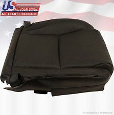 Fits 2009 Lexus IS250 IS350 Driver Bottom Seat Cover- Perforated Leather- Black