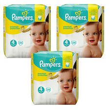 3 x 24=72 Pieces Pampers Premium Protection Diaper Größe 4 Maxi 8-35.3lbs Baby