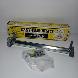 Easy Fan Brace by Reiker Enterprises Electrical Fan Support Safety Brace 33300