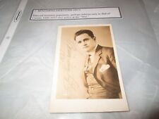 R Photo Beniamino Gigli Opera Tenor Orig Signed 1931 Postcard