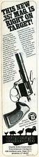 1981 Print Ad of Charter Arms Bulldog Tracker .357 Magnum Revolver