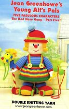 Jean Greenhowes Young Alf's Pals Red Nose Gang knitting pattern FREE NEEDLES
