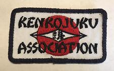 Kenkojuko Assocation Karate Vintage Patch Martial Arts Judo Self Defense