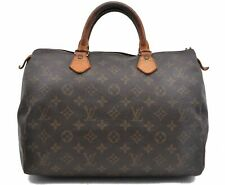 Authentic Louis Vuitton Monogram Speedy 30 Hand Bag M41526 LV A5171