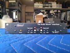 Benchmark Media Audio World Interface