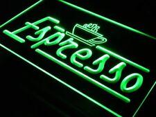 """16""""x12"""" i075-g Espresso Coffee Shop Cafe Club Wall Decor LED Neon Signs"""