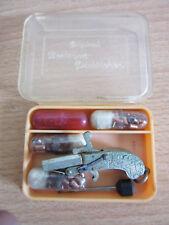 Vintage Original Berloque Pistolchen miniature key chain cap gun