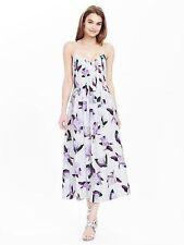 NWT Banana Republic Floral Pintuck Dress Cocoon Color Sz 4, 6, 6T, 10