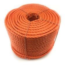24MM X 100M 'Everlasto' Orange Polypropylène Corde Poly Usage Général