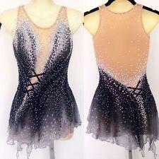2018 Ice Figure Skating Dress  Baton Twirling skating Competition dress  xx239