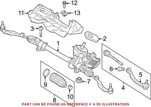 Genuine OEM Steering Tie Rod Assembly for Mini 32106899813