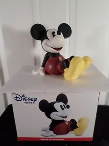 """Disney Mickey Mouse Ceramic Bank    Approx.  6.5"""" Tall-Brand New In Box"""