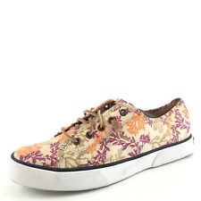 Sperry Top-Sider AC Billfish Canvas Multi Sneakers Shoes Women's Size 8.5 M*