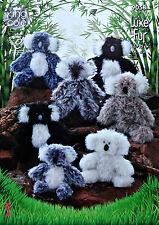 KNITTING PATTERN LargeMedium&Small (FatherMotherBaby) Koala KNITTINGPATTERN 9058