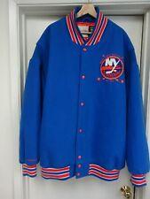 Vintage Mitchell & Ness New York Islanders Wool Varsity Jacket Men's 56 RARE NHL