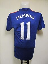 MANCHESTER UNITED 2016/17 S/S AWAY SHIRT MEMPHIS 11  BY ADIDAS ADULT MEDIUM