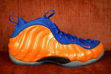 3fb0f4bc42f86 WORN ONCE NIKE AIR FOAMPOSITE ONE NYC KNICKS Size 9 314996-801 Orange Blue  Cavs
