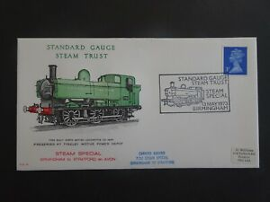 PLS12 GB Railway First Day Cover Standard Gauge Steam Trust dated 1973
